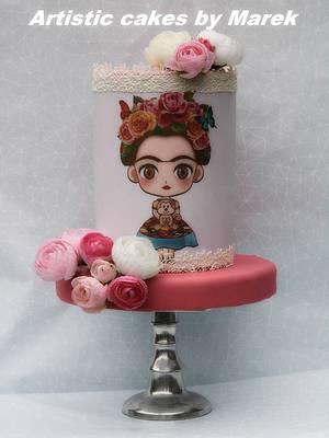 Frida b'day cake - Cake by Marek