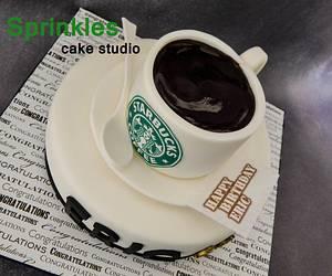 Coffee lovers - Cake by Sprinkles Cake Studio