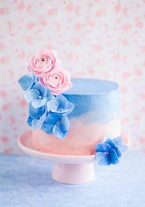 Pantone Color of the Year Inspired Cake - Cake by Lulusweetsandcake