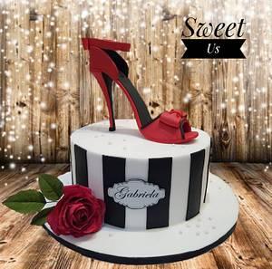 My birthday cake :) - Cake by Gabriela Doroghy