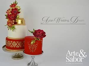 Asian Wedding Dream - Cake by José Pablo Vega