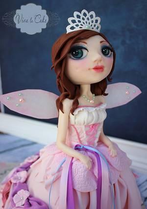 Yasmine's Fairy Godmother  - Cake by Joly Diaz