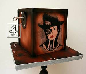 Old Curiosity Shop Collaboration  - Cake by JT Cakes