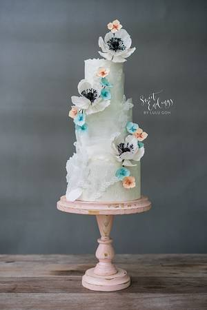 Ethereal Beauty - Cuties Into Spring Collaboration - Cake by Lulu Goh