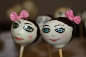 Popcakes Funny Faces - Cake by PunkRockCakes