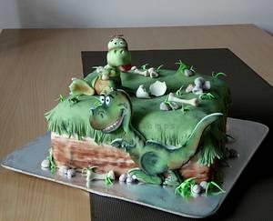 Dinosaur cake - Cake by lamps