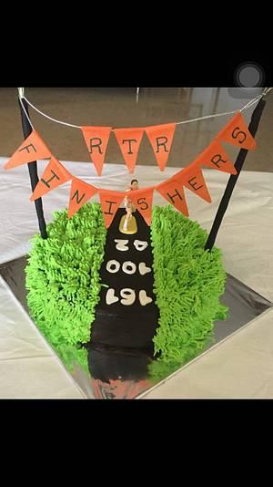 Runners Cake - Cake by Sonia Chhabda