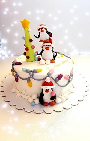 Pingu cake - Cake by Choco loco