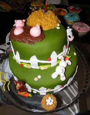 Farm cake - Cake by bolosdocesecompotas