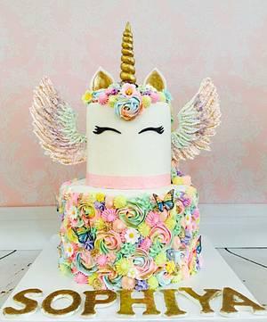 I believe in Unicorns!  - Cake by Tiers of joy