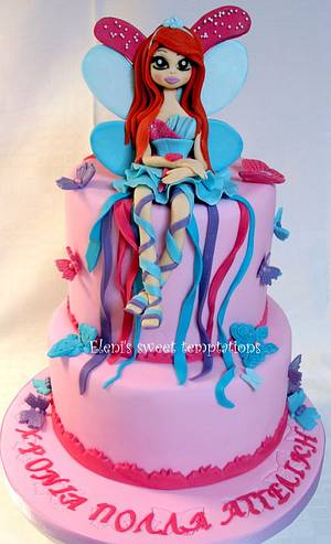 Fairy - Cake by sugardiver62