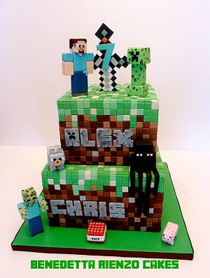 Minecraft Birthday Cake - Cake by Benni Rienzo Radic