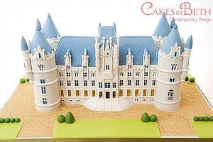 Chateau de Challain - Cake by Beth Mottershead