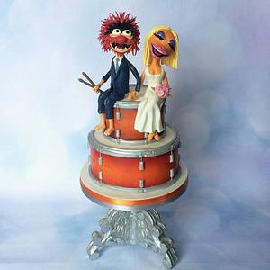 Animal & Janice from the muppets - Cake by Jen's Cake Boutique