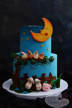 Sleeping Farm Animals - Cake by Nasa Mala Zavrzlama