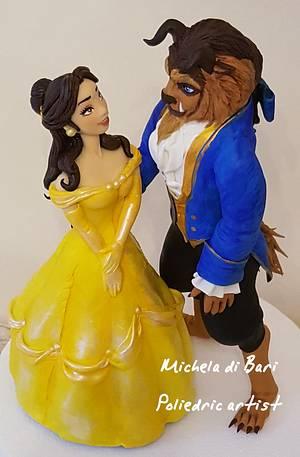 Beauty and the Beast  - Cake by Michela di Bari