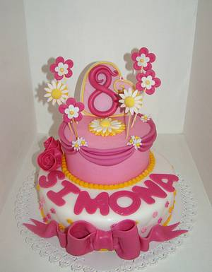 flower cake - Cake by Le Torte di Mary