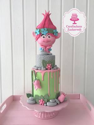 Trolls - Poppycake 😍 - Cake by Carolinchens Zuckerwelt