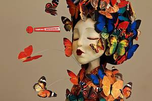 Madame Butterfly (Primavera con arte collab) - Cake by Tartas Imposibles