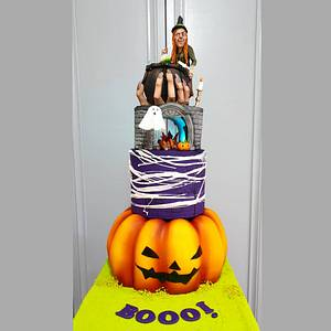 Halloween Cake - Cake by Tuba Fırat