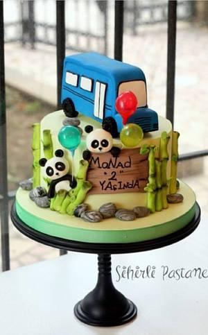 Panda Cake - Cake by Sihirli Pastane