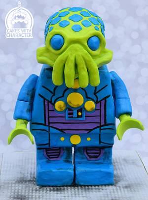 Lego Alien - Cake by Jean A. Schapowal