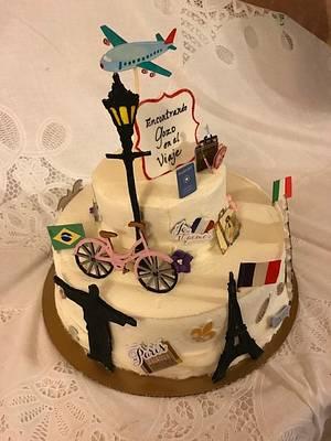 Joy In The Journey - Cake by Julia