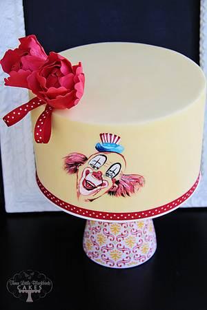 Such a Clown - Cake by Three Little Blackbirds
