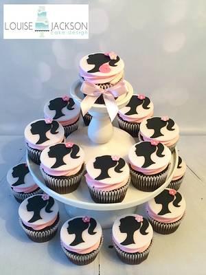 Barbie cupcakes - Cake by Louise Jackson Cake Design