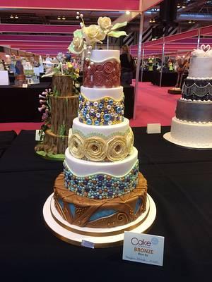 Wedding Cake Entry CI November 2016 - Cake by Blossom Dream Cakes - Angela Morris