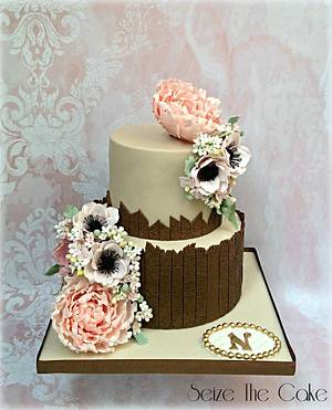 Spring themed birthday cake - Cake by Seize The Cake