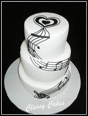 Making Music Together - Cake by Classy Cakes By Diane
