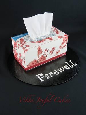 First farewell cake - Cake by Vikki Joyful Cakes