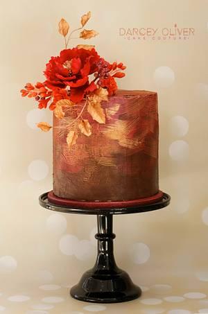 Ruby - Cake by Sugar Street Studios by Zoe Burmester