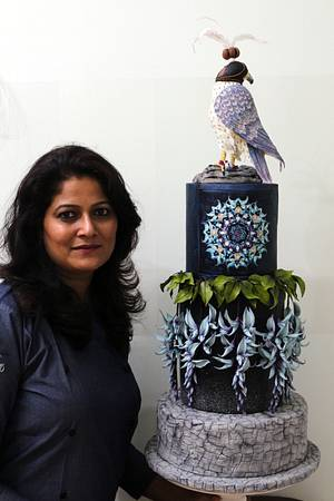 The Pet falcon-The Arabian nights collaboration - Cake by Sweet Symphony