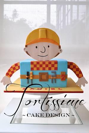 Bob the Builder Cake - Cake by Tortissime Cake Design