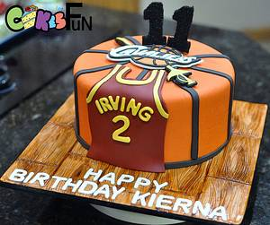 Basketball Cake - Cake by Cakes For Fun