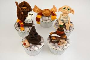 Harry Potter Cupcakes - Cake by Juliana's Cake Laboratory