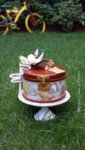 Traveler cake - Cake by Mariya's Cakes & Art