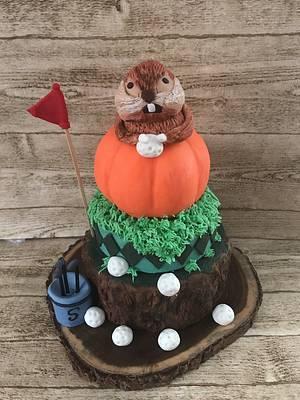 "Caddyshack Birthday Cake - Cake by June (""Clarky's Cakes"")"