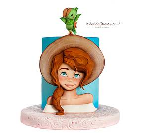 SUMMER GIRL - Cake by Silvia Mancini Cake Art