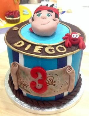 Piratas  - Cake by Ana