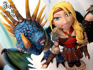 How to Train your Dragon - Cake by Jennifer