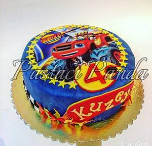 blaze and the monster machines - Cake by Pastacı Panda