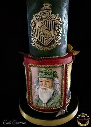 Harry Potter Wedding Cake  - Cake by Calli Creations
