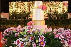 Blushing Bride - Cake by Gwen Lobo