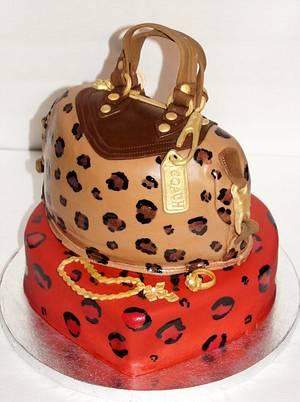 Coach Purse cake - Cake by Sylvia Cake