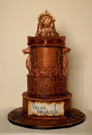 Games of throne - Cake by Sugar cottage by pooja