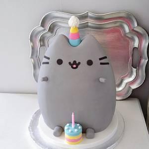 Pusheen Cake - Cake by Klis Cakery