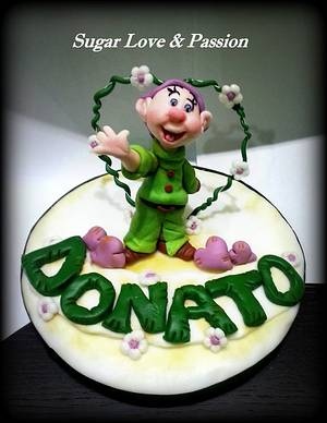 Dopey Caketopper - Cake by Mary Ciaramella (Sugar Love & Passion)